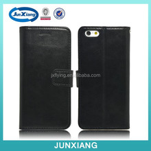 Black Color Leather Flip Case for iPhone 6 4.7inch for i6