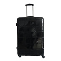 Black ABS PC Luggage Trolley Bags Luggage Suitcase For Travel