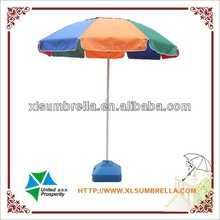 Windproof promotional beach umbrella