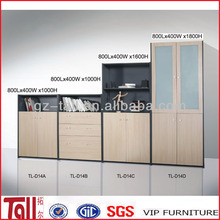 high quality custom made modern wooden storage cabinet office file cabinet