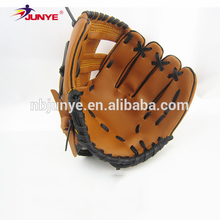 Ning Bo Jun Ye promotion custom mini kip leather baseball glove