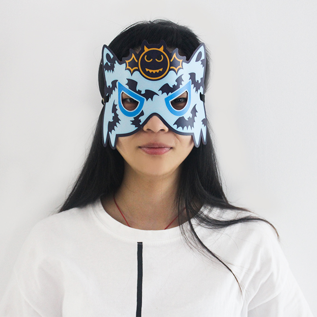 2019 Halloween Kids EL Light Led Party Mask For Kids Party
