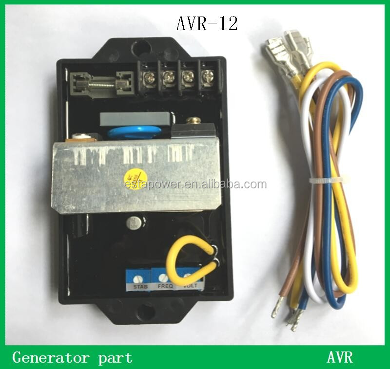 Datakom Brushless automatic voltage regulator AVR-12 generator avr
