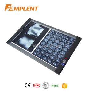 Brightness adjustable super slim double panel Medical LED x ray light box