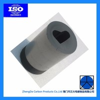 good chemical stability graphite crucible melting aluminum gold silver
