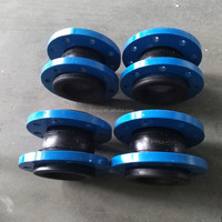 BS4504 Galvanized Single Sphere Rubber Expansion Joints