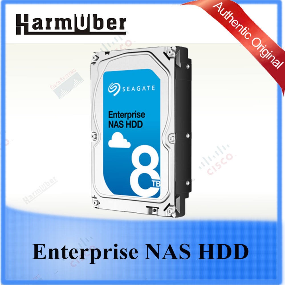 High Perfermance Seagate Enterprise NAS HDD 8TB Drive Optimized for Mid-range NAS, Server and Cloud Storage