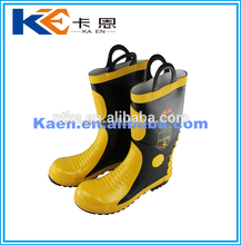 Cheap Factory Price yellow fire resistance boots with best quality and reasonable price