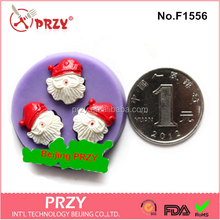 F1556 przy christmas series cupcake silicone cake pop molds