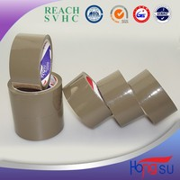 China manufacture cheap color tape brown bopp packing tape