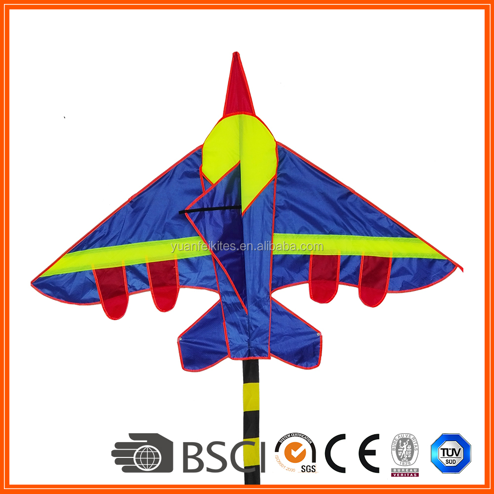 Colorful red airplane kite for kid