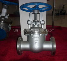 Stainless steel rising stem gate valve Z41W-16P for oil gas and water