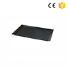 Wholesale Customized square acrylic serving tray serving tray black