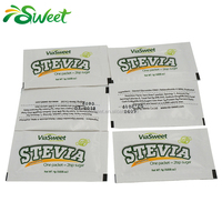 stevia sweetener blend Reb-A mix maltodextrin in sachets