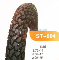 Top Brand Motorcycle Tire 3.00-18 3.00-17 2.75-18 2.75-17 for USA
