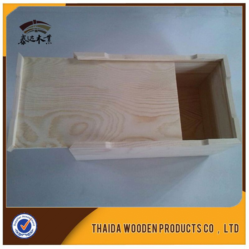 Blank Wood Wine Boxes /Gift Box