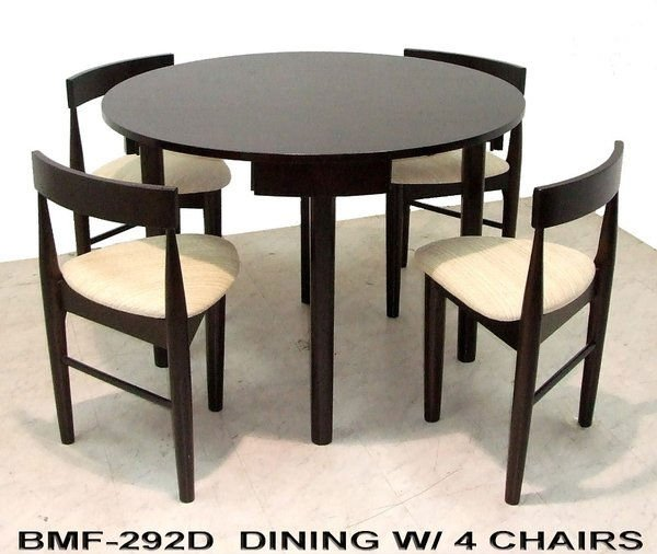 BMF Dining Set Made from Gemilina Wood