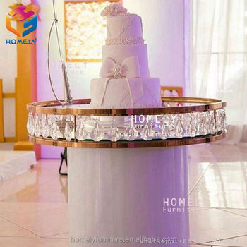 Hotel supplies dining buffet table wedding catering round retangular marble top crystal wedding gold stainless steel table