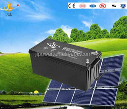 High capacity 12V Solar Power Batteries Deep Cycle Gel Batteries 12V 250AH for solar power system