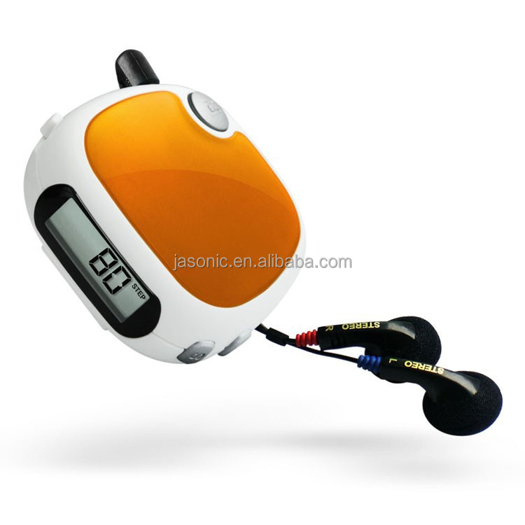 FM Scan Radio with Pedometer