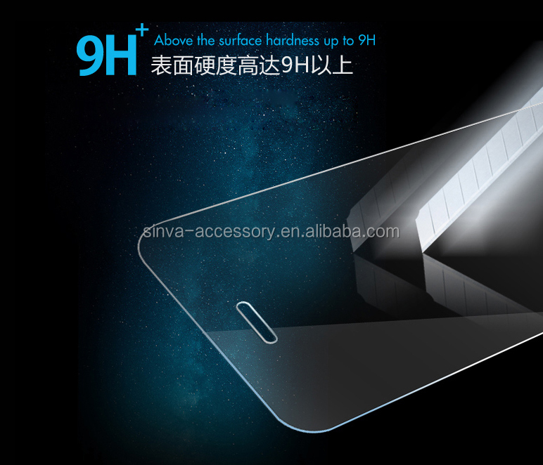 Sinva cheap price 2.5D New designed H9 tempered glass screen protector for iPhone 6 Mobile phone