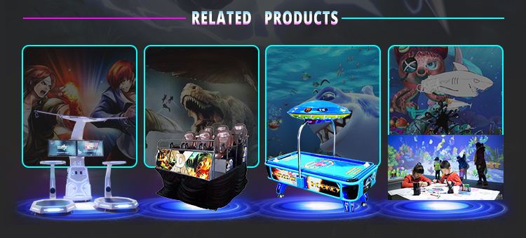 New design 360 degrees 9d virtual reality simulator thrilling experience vr slide with touch screen