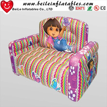 Inflatable cute colorful Kids inflatable air sofa