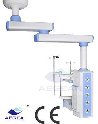 AG-360-2 with singe arm ICU medical gas hospital bed pendant price