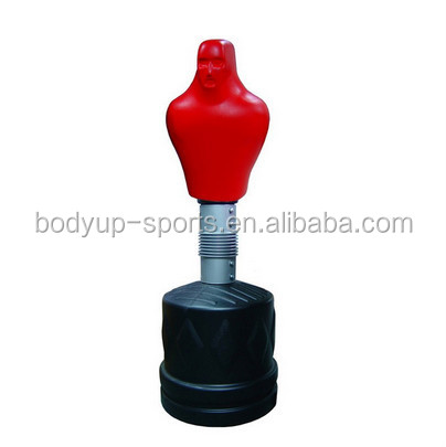 Free standing punching bag boxing bag slam man