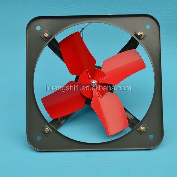 220V AC Power exhaust fan with metal pannel and cheap price and high quality