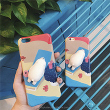 Factory Wholesale 3d Kneading Pinch Custom Design Your Own Squishy Silicone Animal Cartoon Mobile Cell Phone Case For Iphone 7 6