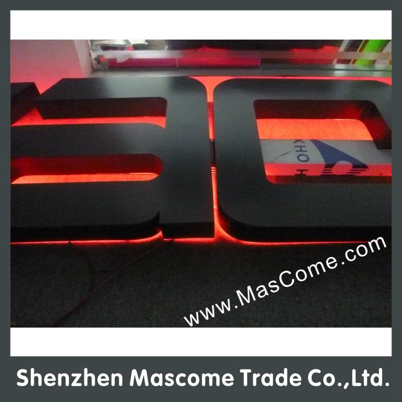 led sign board 3d led car logo light