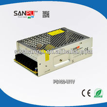 china export high efficiency PFC 95% with CE ROHS certification led 220v 100w compact 12v power supply