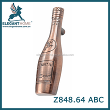 Furniture hardware Excellent quality exquisite zinc furniture pulls and knobs beer bottle Z848