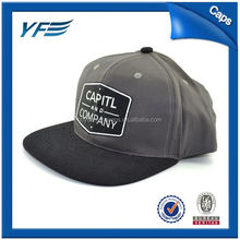 Portable 6-Panel Snapback Sport Hat / Bluetooth Flat Caps For Promotion