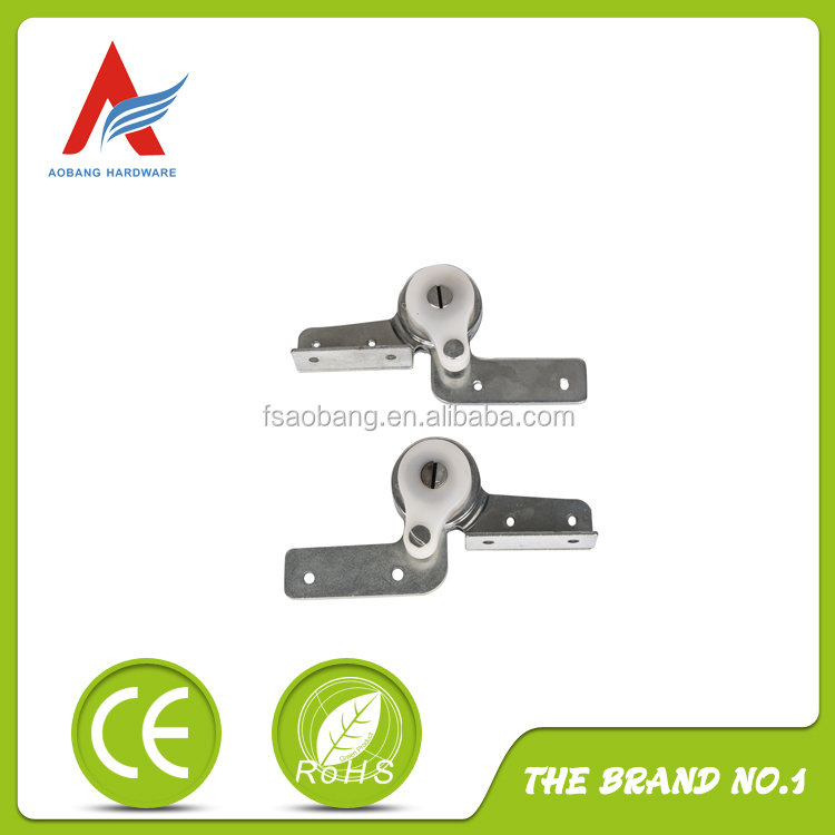 wood furniture parts round metal hinge with spring