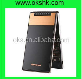 "Original Lenovo A588t 4"" TFT Screen 4GB Android 4.4 Classic Flip Smart Mobile Phone"