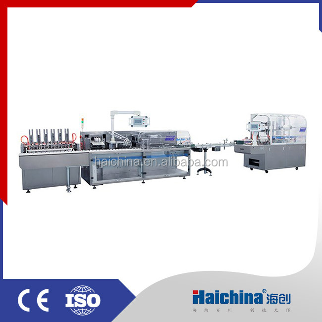 Automatic sachet packaging machine line/Sachet cartoning machine/wrapping machine