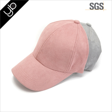 Hot sale Custom Fashion Blank Unstructured Suede Baseball Dad Cap hat for wholesale