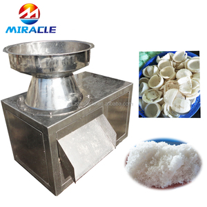 Stainless steel Coconut meat crushing machines from pre process of coconut equipment