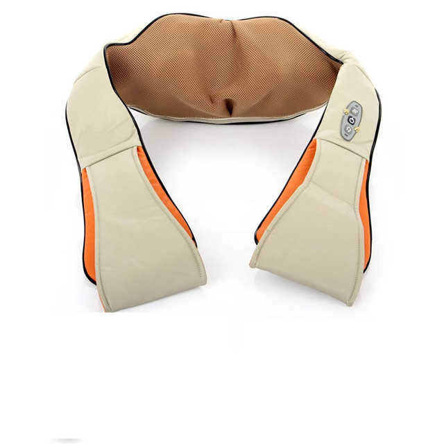 lower back pain relief kneading and heating neck shoulder massager