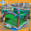 High quality PVC green snake inflatable castle bouncy castles inflatables china