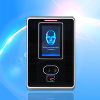 3 inch touch screen Facial and card reader time attendance machine FA300 with TCP/IP/USB host