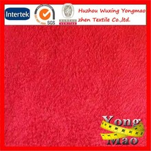 High quality 100% polyester sherpa suede fire resistant upholstery fabric for sofa