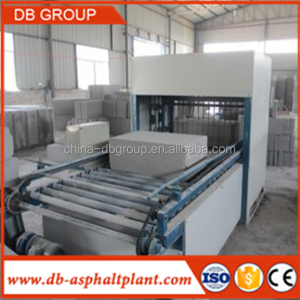 CLC AAC autoclaved aerated concrete blocks cutting machine