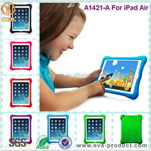 Kids Safe Friendly Thick Foam Shock Absorbent Back Cover Case For iPad 5