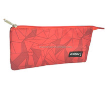 many function pockets pencil bag make up pouch