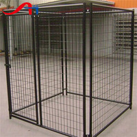 Large Dog kennel, strong stainless steel dog cage