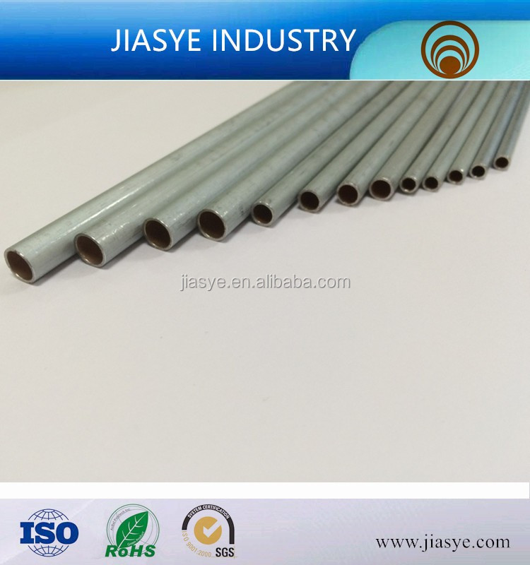 ASTM A254 SKTM11 4.76*0.7mm double wall hot dip galvanized steel tube for brake pipe line of automobile
