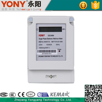 single phase digital energy meter,lcd display kwh meter